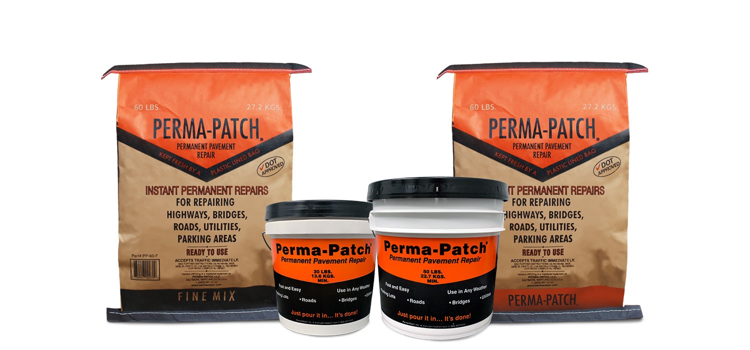 Product and packaging line of perma-patch